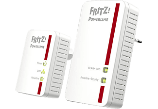 AVM FRITZ!Powerline 540E WLAN Set, Powerline-Adapter, WLAN Access Point