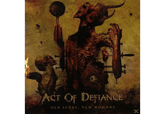 Act Of Defiance - Old Scars,New Wounds - (CD)