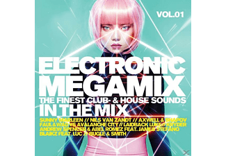 VARIOUS - Electronic Megamix Vol.1 (The Finest Club-&House S [CD]