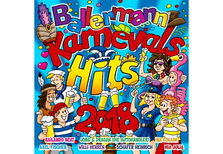 VARIOUS - Ballermann Karnevals Hits 2018 [CD]