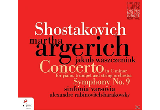 Martha Argerich - Concerto For Piano In c minor op.35,Symphony [CD]