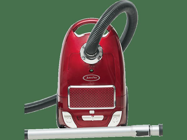 JURO-PRO Diva 450 W Red είδη σπιτιού   μικροσυσκευές σκούπες σκούπες με σακούλα