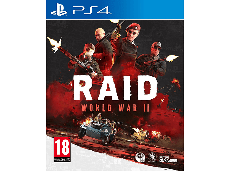Raid World War II PlayStation 4 gaming games ps4 games