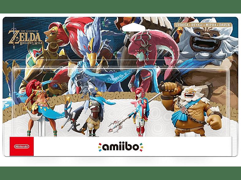 NINTENDO Amiibo Pack 4 figurines The Legend of Zelda gaming απογείωσε την gaming εμπειρία φιγούρες παιχνιδιών