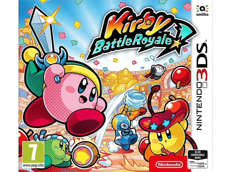 Kirby Battle Royale Nintendo 3DS gaming φορητές κονσόλες games 2ds  3ds