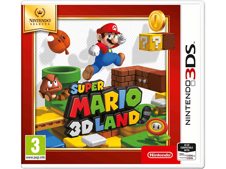 Super Mario 3D Land Selects Nintendo 3DS gaming φορητές κονσόλες games 2ds  3ds