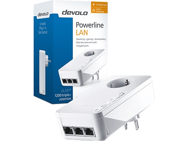 DEVOLO dLAN 1200 triple+ Powerline laptop  tablet  computing  δικτυακά