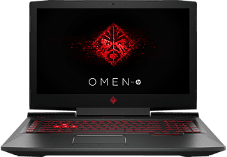HP OMEN 17-an038ng, Gaming-Notebook mit 17.3 Zoll Display, Core™ i7 Prozessor, 16 GB RAM, 2 TB HDD, 256 GB SSD, GeForce GTX 1070, Rot/Schwarz