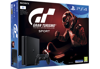 SONY PlayStation 4 1ΤΒ E Chassis + Gran Turismo Sport