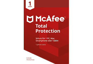 McAfee Total Protection 1 Device (Code in a Box)