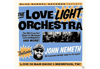 The Love Light Orchestra - Featuring John Nemeth [CD]