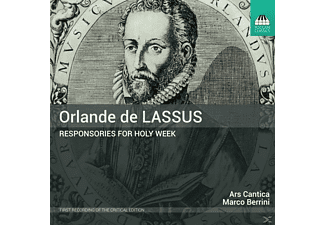 Marco/ars Cantica Berrini - Responsories for Holy Week - (CD)