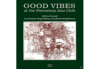 Estrand/Domnerus/Hallberg/Johansen/Riedel - Good Vibes at the Pawnshop Jazz Club - (Vinyl)