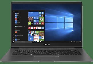 ASUS UX530UX-FY021T, Gaming Notebook mit 15.6 Zoll Display, Core™ i7 Prozessor, 8 GB RAM, 256 GB SSD, GeForce® GTX 950M, Grey-Metal