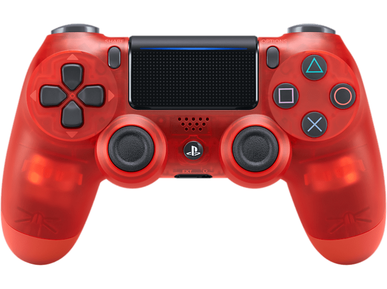 SONY PS4 Dualshock 4 V2 Red Crystal gaming απογείωσε την gaming εμπειρία αξεσουάρ ps4