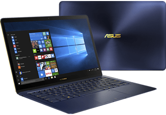 "ASUS ZenBook 3 Deluxe UX490UAR-BE087T kék notebook (14"" Full HD/Core i7/16GB/512GB SSD/Windows 10)"
