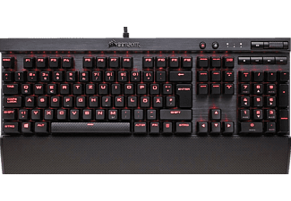 CORSAIR K70 LUX mechanische Gaming-Tastatur – Rote LED – Cherry MX Brown, Gaming Tastatur