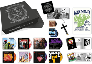 Black Sabbath - The Ten Year War (Deluxe Box Set) - (Vinyl)