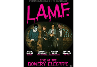 Lure,Burke,Stinson & Kramer - L.A.M.F.(Live At The Bowery Electric) - (DVD)