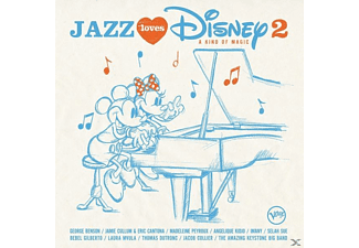 Diverse Jazz - Jazz Loves Disney 2-A Kind Of Magic [CD]