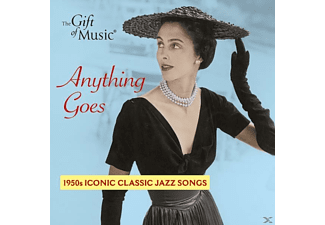Ella Fitzgerald - Anything Goes-1950s Iconic Classic Jazz Songs - (CD)