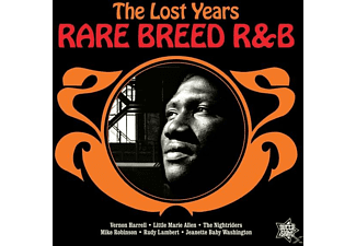 VARIOUS - Rare Breed R&B-The Lost Years - (Vinyl)