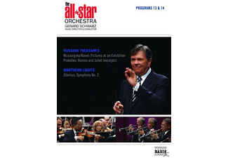 Gerard/all Star Orchestra Schwarz - Programs 13 &14: Russian Treasures/Northern Lights - (DVD)