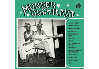 VARIOUS - Murder By Contract - (Vinyl)