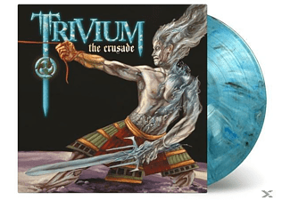 Trivium - The Crusade (LTD Blue/White/Black Mixed Vinyl) [Vinyl]