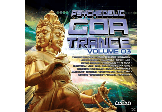 VARIOUS - Psychedelic Goa Trance 3 [CD]