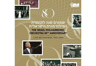 Zubin Israel Philharmonic Orchestra / Mehta - 80th Anniversary | Live Recordings 1957-2006 [CD]