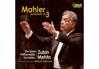 Zubin Israel Philharmonic Orchestra / Mehta - Sinfonie 3 In d minor [CD]