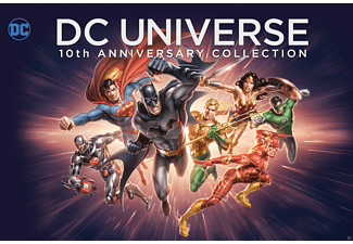 DCU 10th Anniversary Collection (19 Discs) - (Blu-ray)