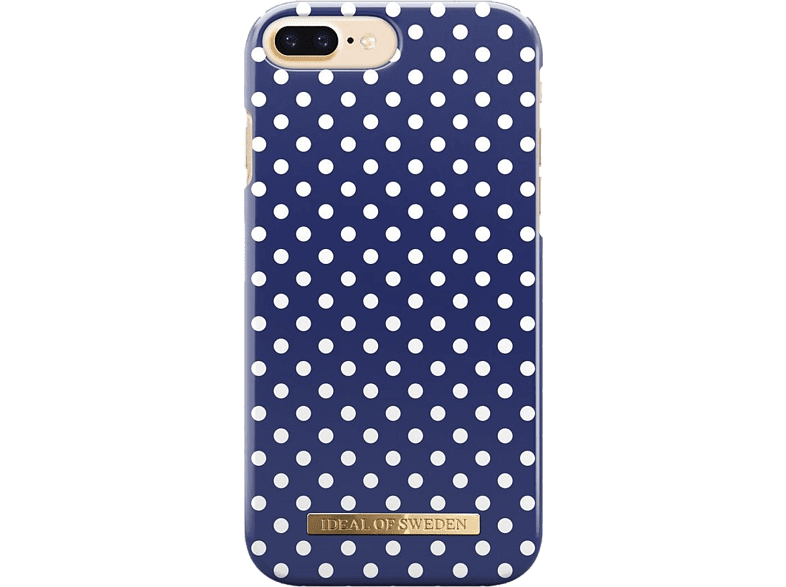 IDEAL IPhone 8/7S 2017 Blue Polka Dots smartphones   smartliving iphone θήκες iphone smartphones   smartliving αξεσουάρ