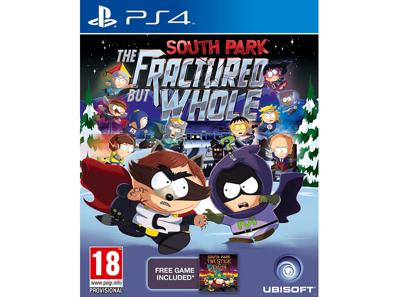 South Park The Fractured But Whole Standard Edition PlayStation 4 gaming   offline sony ps4 παιχνίδια ps4 gaming games ps4 games