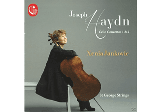 Xenia/st George Strings Jankovic - Cellokonzerte - (CD)
