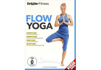 Brigitte Fitness - Flow Yoga - Dynamisches Yogatraining im Fluss - (DVD)