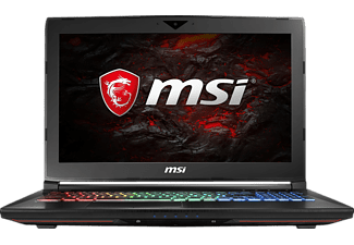 MSI GT62VR 7RE-425 Dominator Pro, Gaming Notebook mit 15.6 Zoll Display, Core™ i7 Prozessor, 16 GB RAM, 256 GB SSD, 1 TB HDD, GeForce GTX 1070, Schwarz
