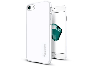 SPIGEN iPhone 7 Case Spigen Thin Fit Ultra İnce Jet White