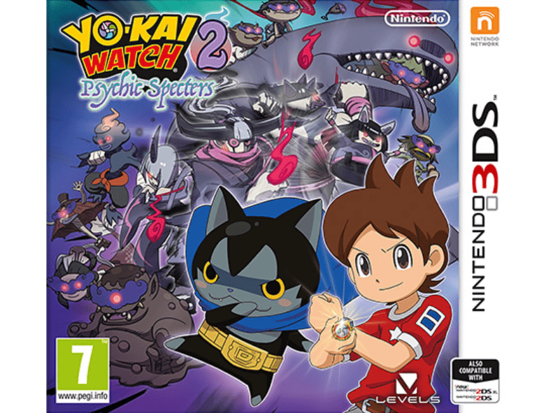 Yo-Kai Watch 2 Psychic Spectres Nintendo 3DS gaming φορητές κονσόλες games 2ds  3ds