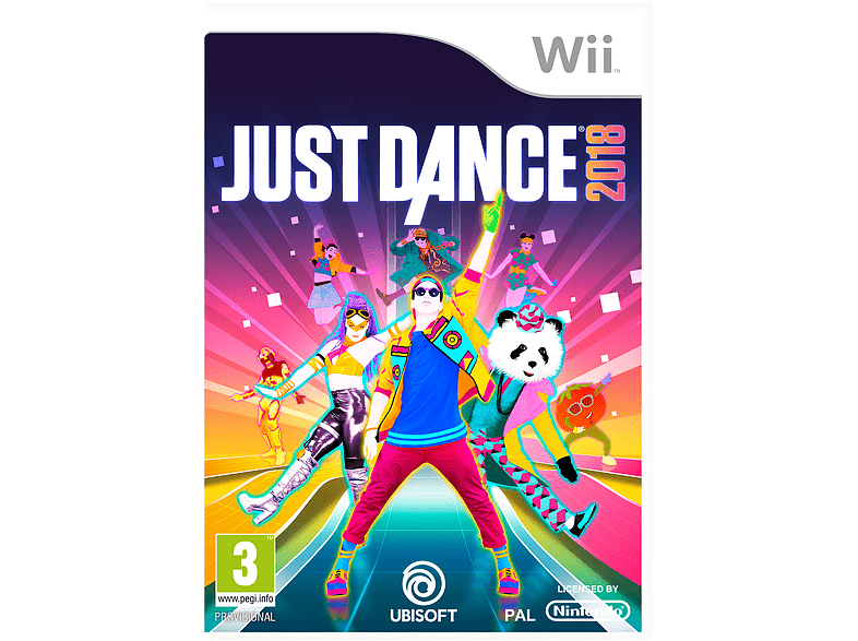 Just Dance 2018 Nintendo Wii gaming games wii  wii u games