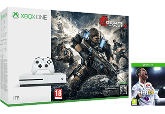 Xbox One S 1TB + Gears of War 4 + FIFA 18