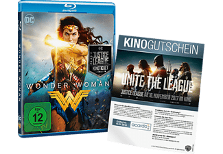 Wonder Woman + Justice League Kinoticket (Exklusiv) [Blu-ray]