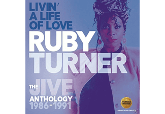 Ruby Turner - Livin' A Life Of Love-The Jive Anthology 1986-91 [CD]
