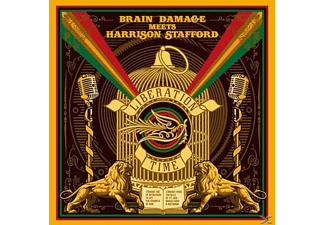 Brain Damage Meets Harrison Stafford - Liberation Time - (CD)