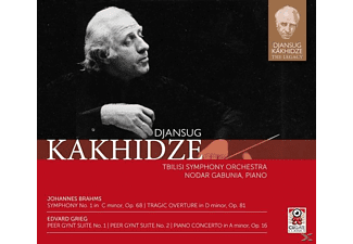 Djansug Kakhidze - Sinfonie 1 In c minor,op.68 & Peer Gynt Suit [CD]