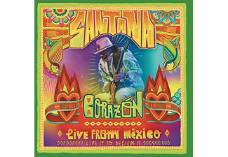 Santana - Corazon - Live From Mexico (CD)