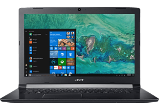 ACER Aspire 5 (A517-51G-574E), Notebook mit 17.3 Zoll Display, Core™ i5 Prozessor, 8 GB RAM, 1 TB HDD, GeForce 940MX, Schwarz