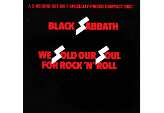 Black Sabbath - We Sold Our Souls For Rock and Roll (CD)