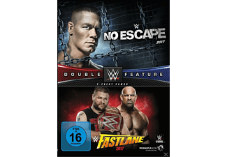 No Escape & Fastlane 2017 (Double Feature) - (DVD)